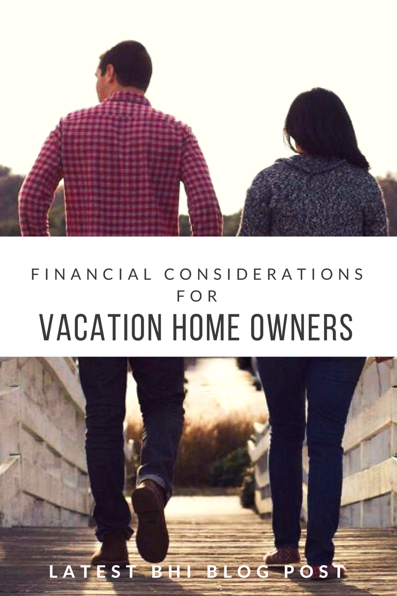 Financial Considerations for Vacation Home Owners